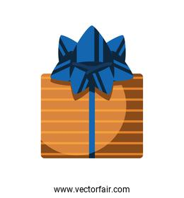 striped gift box