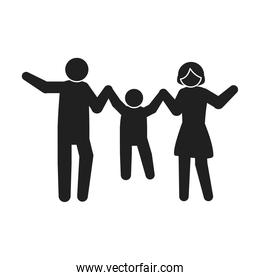 family together pictogram