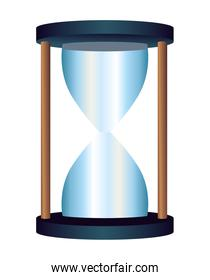 hourglass time empty