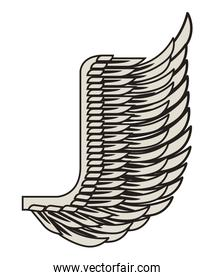 wing angel icon