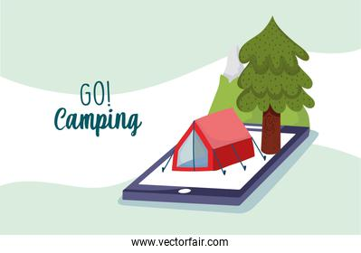 go camping application