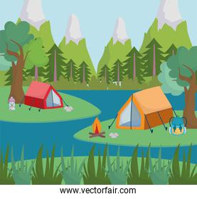 camping forest river