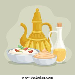 jar and arabic foods