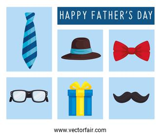 fathers day six icons