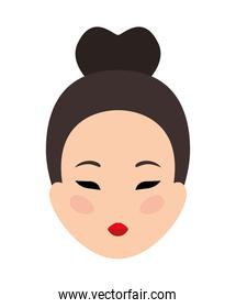 pretty chinese face