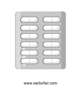 blisters of tablets medicine