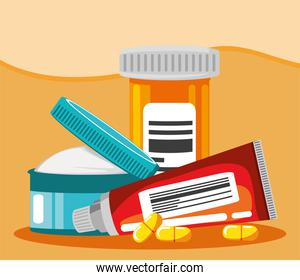 pharmaceutical medications and ointments