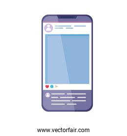smartphone with account