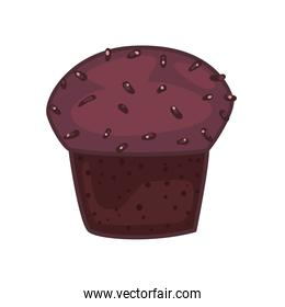 chocolate cupcake icon