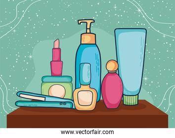 Make up icon group