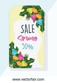 spring sale discount