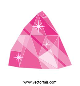 pink crystal icon