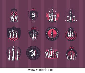 Chess symbol collection