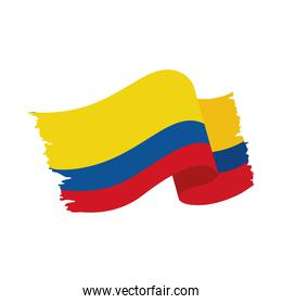 Colombia flag nation