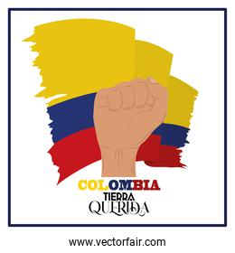 Colombia protest national