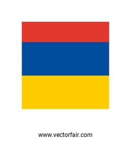 colombian flag upside down