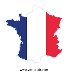 french map flag