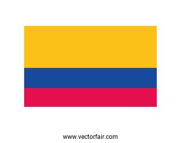 colombian country flag