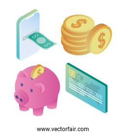 online bank icons
