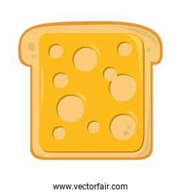 bread with cheese