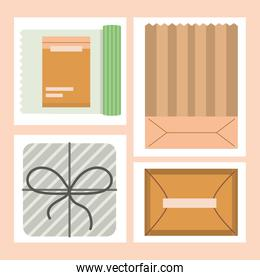 wrapping decoration set