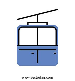 cableway transport linear