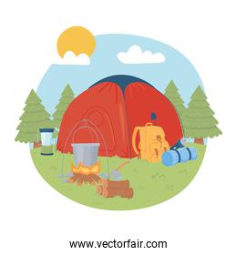 camping adventure travel