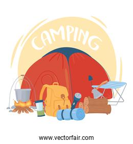 camping recreation adventure