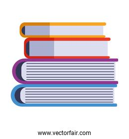 pile text books