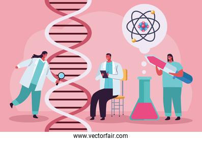 genetic testing with dna