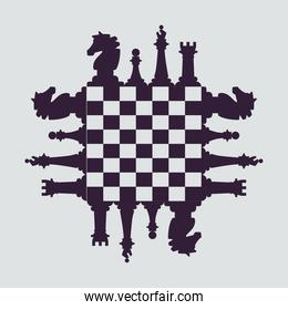 sixteen chess pieces game