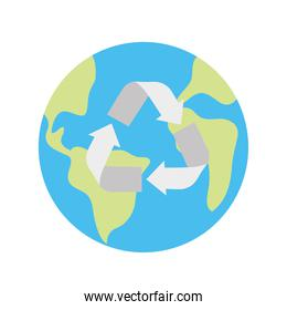 Recycle earth world