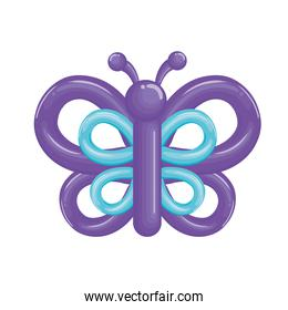 butterfly balloon icon