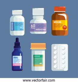 pills icon collection