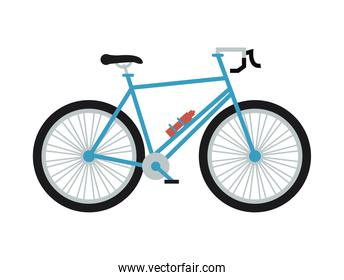 blue bicycle icon