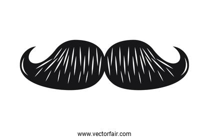 mustache hipster icon