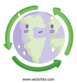 ecology recycle world