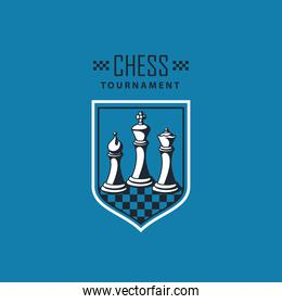 chess game shield