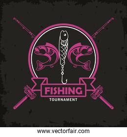 rods and catfishes emblem