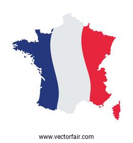 french map design