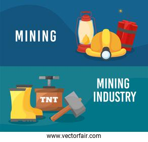 mining industry posters