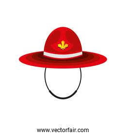 canadian red hat