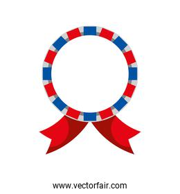 label ribbon rounded