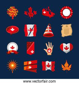 set of canada day
