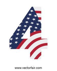 usa number four