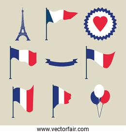 bastille day collection