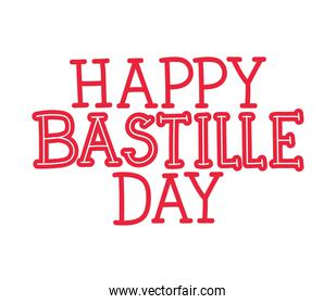 happy bastille day letters