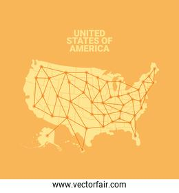 usa interconnection map
