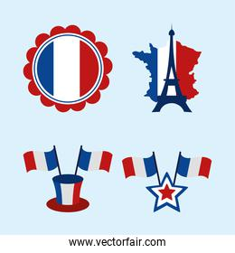 french flag icons