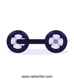 hoverboard transport icon